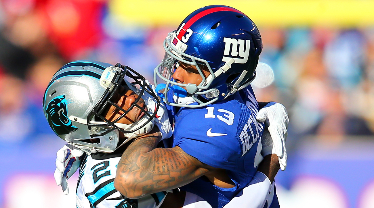 The physical play between Odell Beckham Jr. and Josh Norman crossed the line on multiple occasions during Sunday's game.